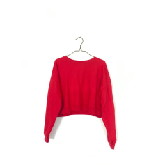 Sweat AMERICAN APPAREL Rouge