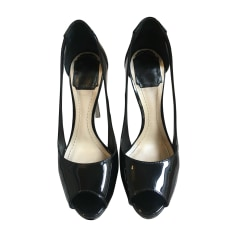 Peep-Toe Pumps DIOR Black