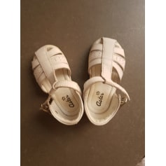 Sandales ASTER Blanc, blanc cassé, écru