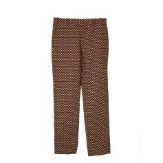 Straight Leg Pants MARNI Golden, bronze, copper