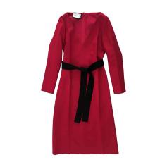Midi-Kleid GUCCI Rot, bordeauxrot