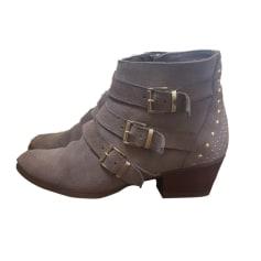 Bottines & low boots à talons MINELLI Beige, camel