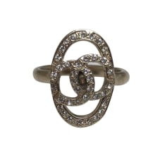 Ring CHANEL Golden, bronze, copper