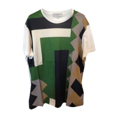 T-shirt SALVATORE FERRAGAMO Vert - blanc
