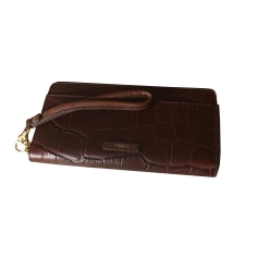 Portefeuille FOSSIL Marron