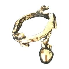 Bague AURELIE BIDERMANN Doré, bronze, cuivre