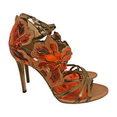 Heeled Sandals JIMMY CHOO Multicolor