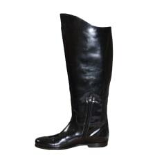 Biker Ankle Boots BOTTEGA VENETA Black