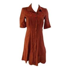 Robe courte ARMAND VENTILO rouille
