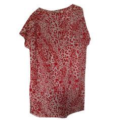 Robe tunique MAJE Rouge, bordeaux