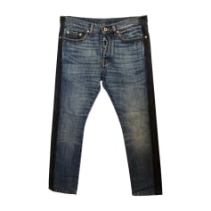 Skinny Jeans VALENTINO Blue, navy, turquoise