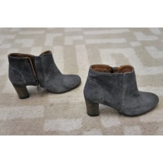 Bottines & low boots à talons ANTHOLOGY PARIS Gris, anthracite