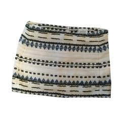 Mini Skirt SÉZANE White, off-white, ecru