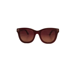 Sunglasses VALENTINO Red, burgundy