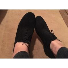 Chaussures à lacets  ANNIEL Noir