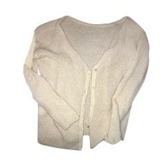Vest, Cardigan SÉZANE White, off-white, ecru