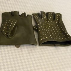 Fingerless Gloves KARL LAGERFELD Khaki