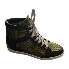 Sneakers JIMMY CHOO Noir/vert anis