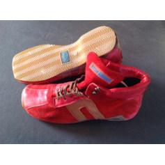 Chaussures à lacets  AIRSTEP Rouge, bordeaux