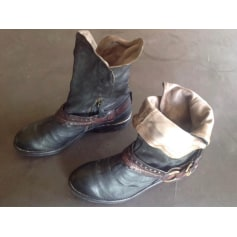 Bottines & low boots à talons AIRSTEP Noir