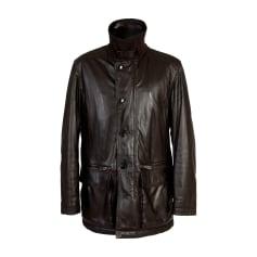 Blousons en cuir Armani Collezioni Homme fe611021028