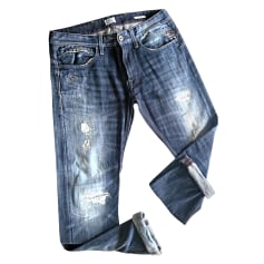 Jeans dritto REPLAY Blu, blu navy, turchese