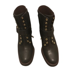 Bottines & low boots motards SEE BY CHLOE Noir