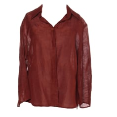 Top, tee-shirt ARMAND VENTILO Marron