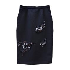 Midi Skirt MIU MIU Black