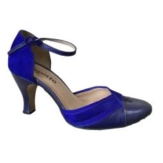 Sandales à talons REPETTO Bleu, bleu marine, bleu turquoise