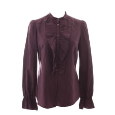 Bluse MOSCHINO CHEAP AND CHIC Violett, malvenfarben, lavendelfarben
