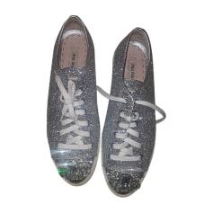 Sneakers MIU MIU Silver