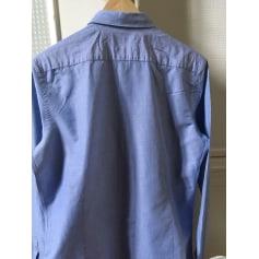 Chemise MASSIMO DUTTI Bleu, bleu marine, bleu turquoise