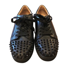 Baskets CHRISTIAN LOUBOUTIN Noir