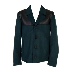 Leather Jacket MARC JACOBS Blue, navy, turquoise