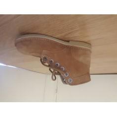 Chaussures à lacets  KICKERS Beige, camel