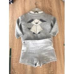 Shorts Set, Outfit PILI CARRERA Gray, charcoal
