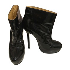 High Heel Ankle Boots YVES SAINT LAURENT Black