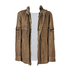 Fur Jacket DOLCE & GABBANA Brown