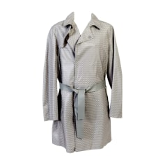 Waterproof, Trench EMPORIO ARMANI Gray, charcoal