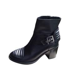 Bottines & low boots motards ZADIG & VOLTAIRE Noir