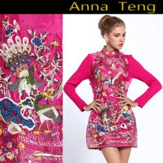 Robe courte Anna Teng  pas cher