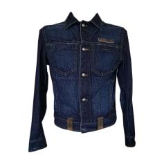 Giubbotto di jeans EMPORIO ARMANI Blu, blu navy, turchese