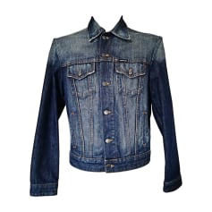 Giubbotto di jeans CALVIN KLEIN Blu, blu navy, turchese