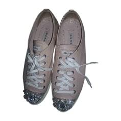 Sneakers MIU MIU Pink, fuchsia, light pink