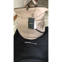 Backpack EMPORIO ARMANI Beige, camel