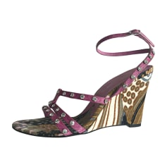 Wedge Sandals DOLCE & GABBANA Multicolor