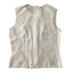 Blouse ARMAND VENTILO Blanc, blanc cassé, écru