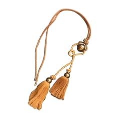 Long Necklace LANVIN Beige, camel