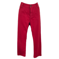 Straight Leg Jeans GERARD DAREL Red, burgundy